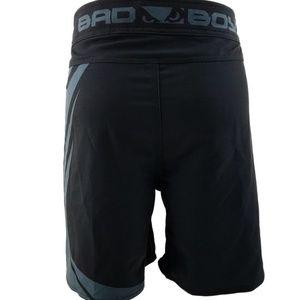 e8b62ee53 Bad Boy Shorts - Bad Boy Velocity Black/Grey Stretch Fight Shorts